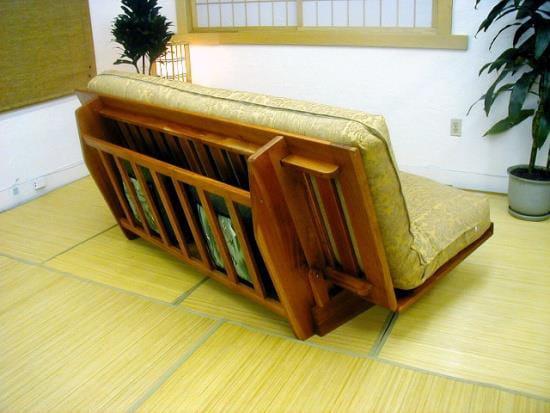 Okinawa Bi Fold Futon Frame W Drawer By Prestige