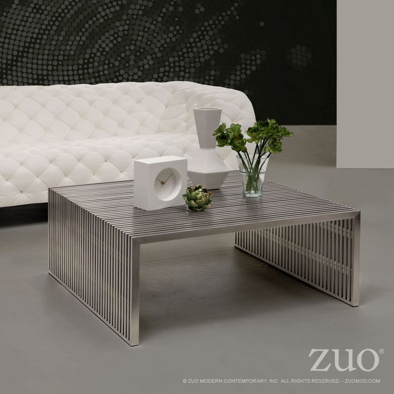 Novel Square Coffee Table By Zuo Modern