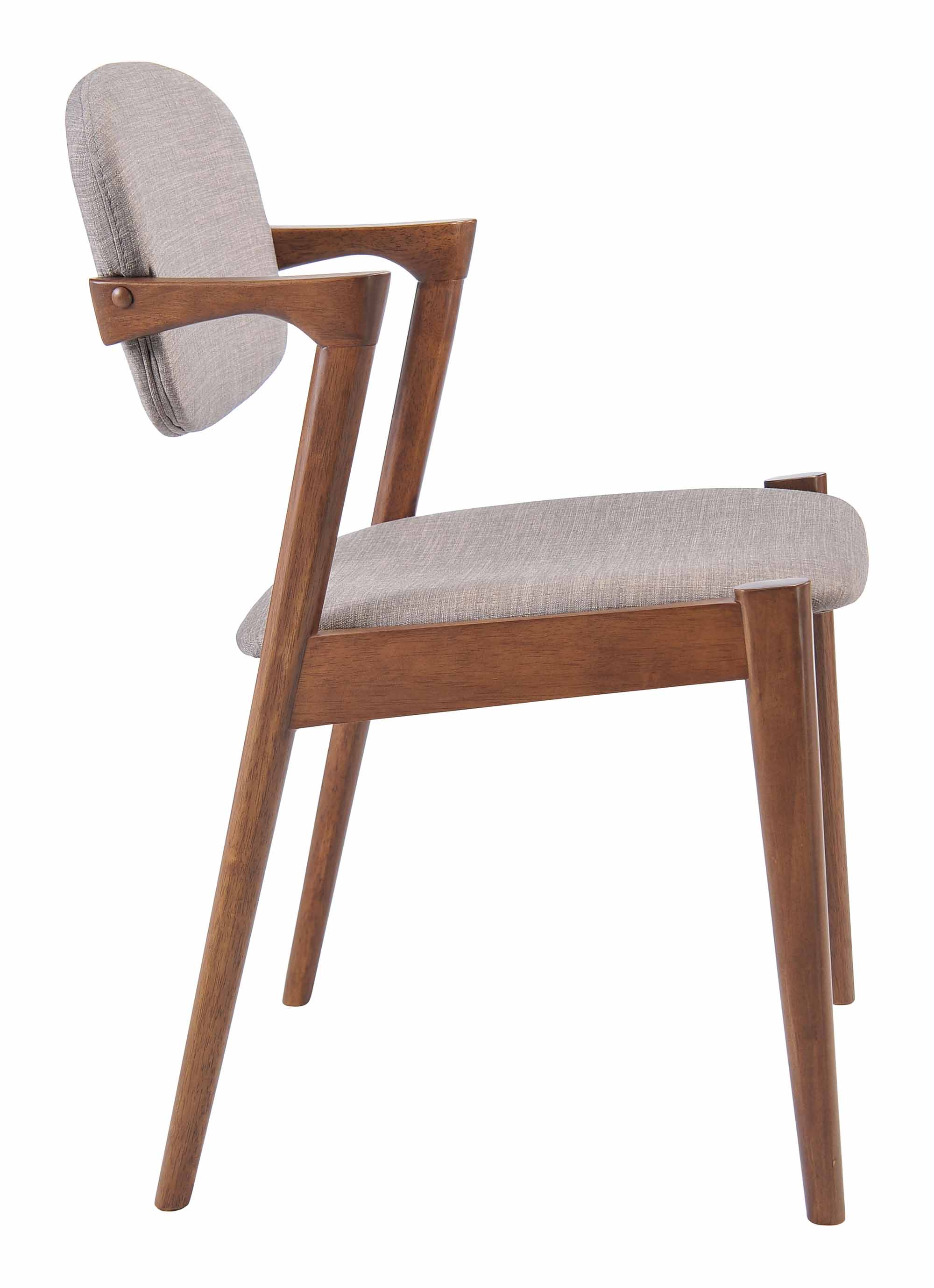 Wondrous Brickell Dining Chair Dove Gray Set Of 2 By Zuo Modern Dailytribune Chair Design For Home Dailytribuneorg