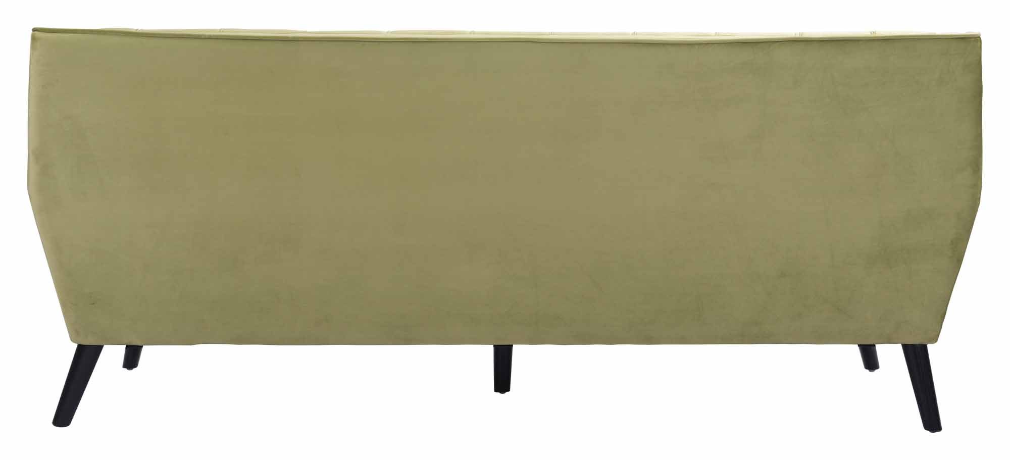 Nantucket Sofa Green Velvet By Zuo Modern