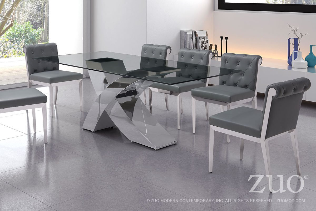 Wave Dining Table By Zuo Modern