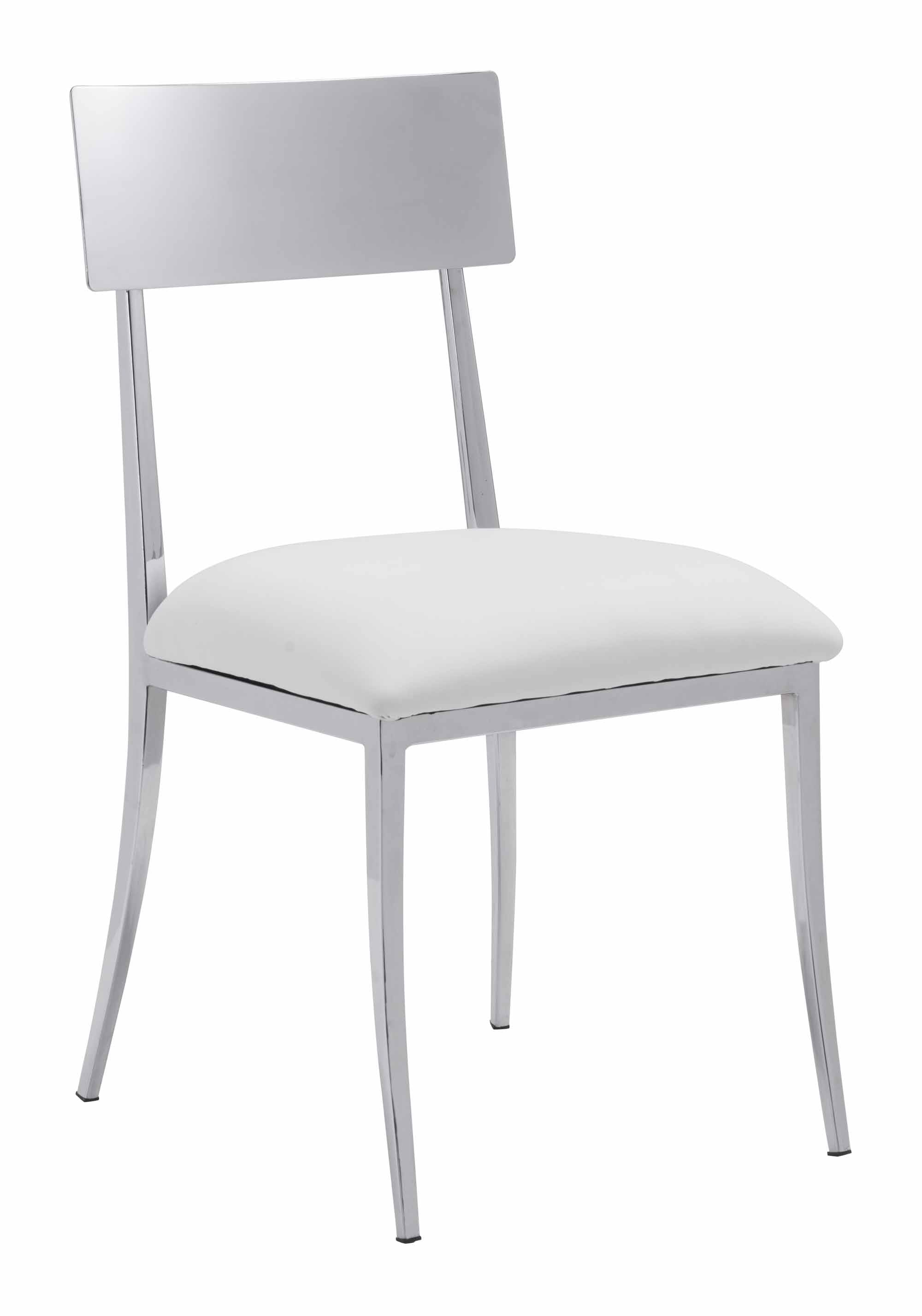 Brilliant Mach Dining Chair White Set Of 2 By Zuo Modern Andrewgaddart Wooden Chair Designs For Living Room Andrewgaddartcom