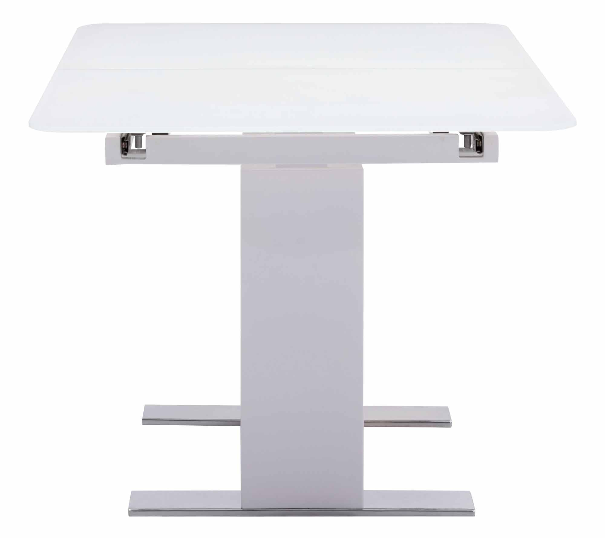St Charles Extension Table White By Zuo Modern