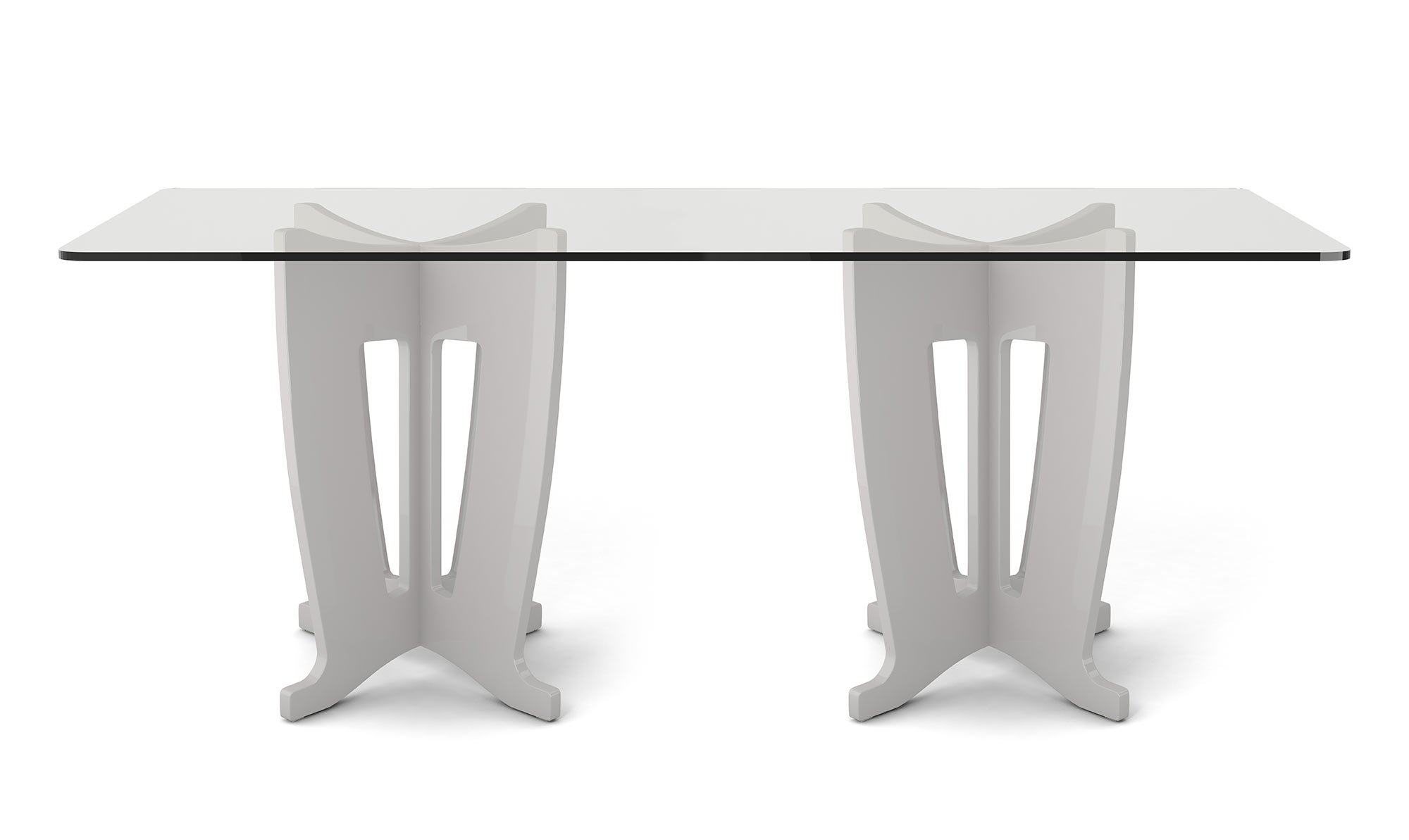 Jane Off White 2 0 78 64 Inch Tempered Glass Table Top