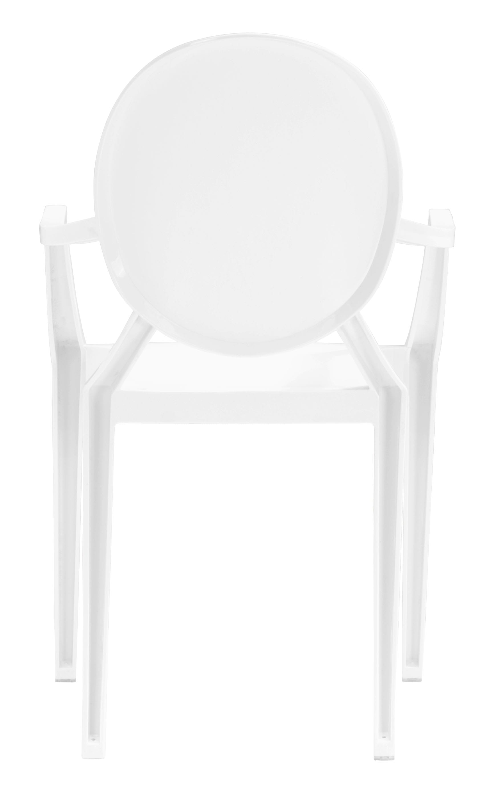 Anime Dining Chair White Set of 4 by Zuo Modern