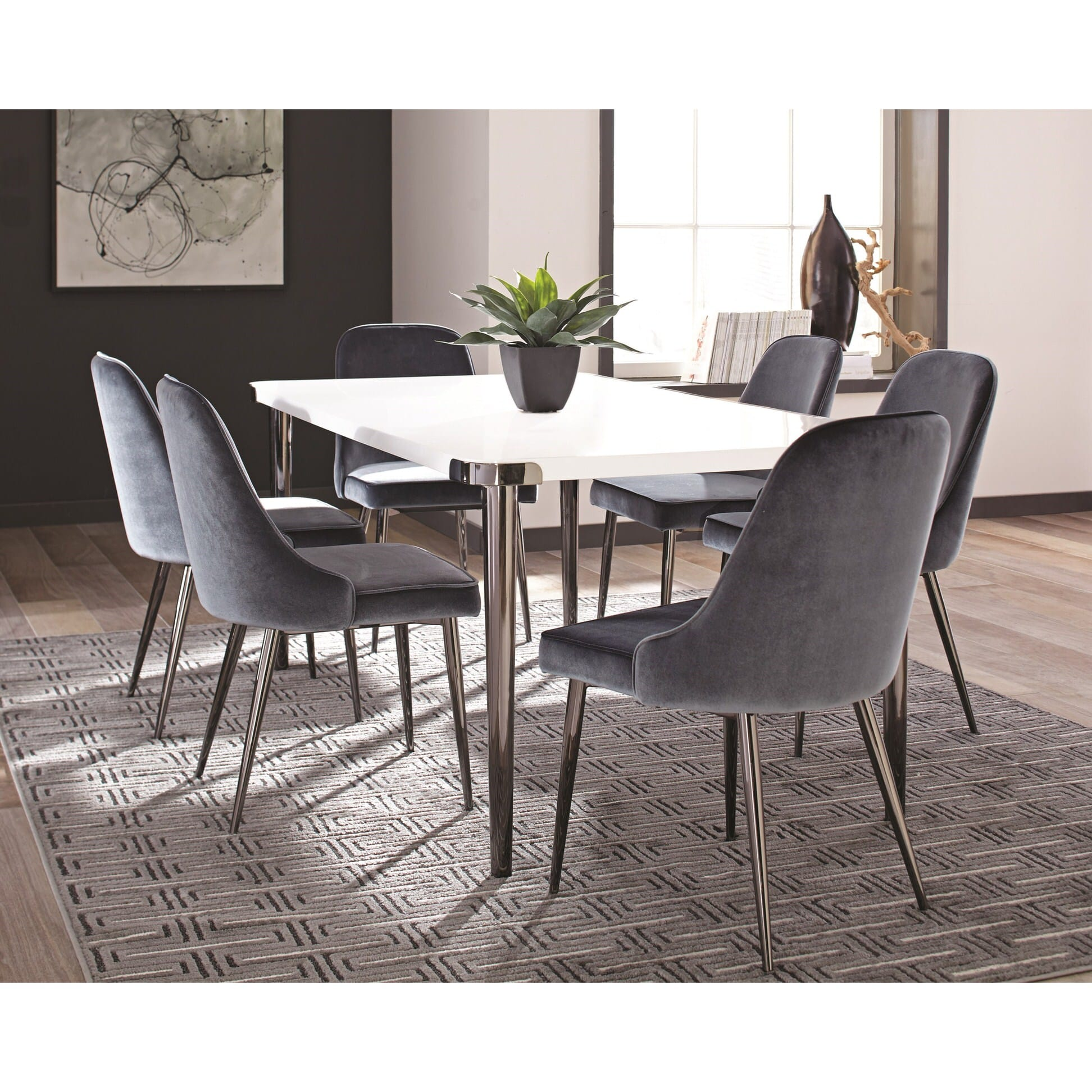 107954 slate blue dining chair by scott living