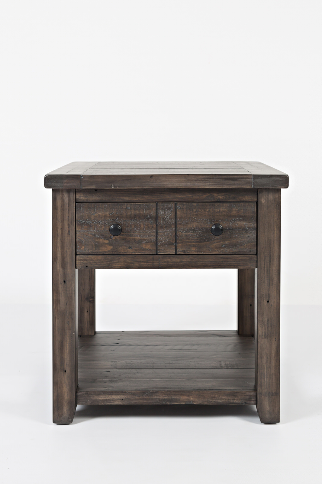 Miraculous Madison County Barnwood End Table By Jofran Furniture Interior Design Ideas Gentotryabchikinfo