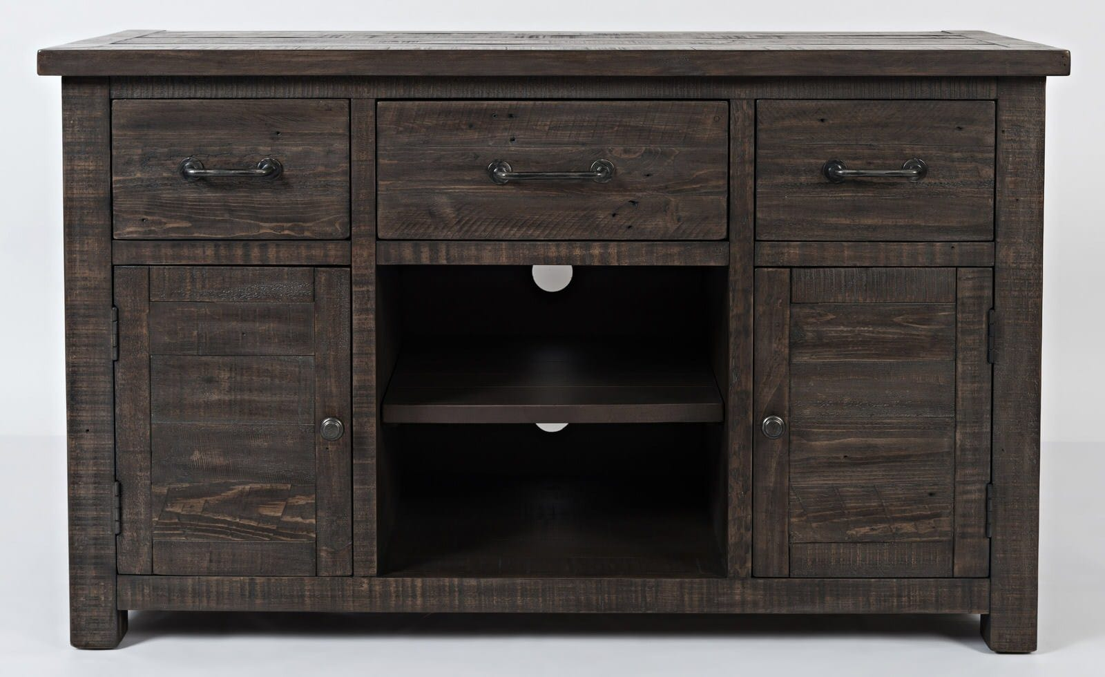new product 117d4 e71df Madison County Barnwood 50 Inch Console Table by Jofran Furniture
