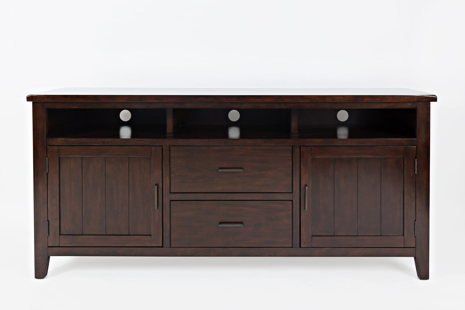 release date: 3a793 aada5 Dover Point Birch Cherry 70 Inch Media Console Table by Jofran Furniture