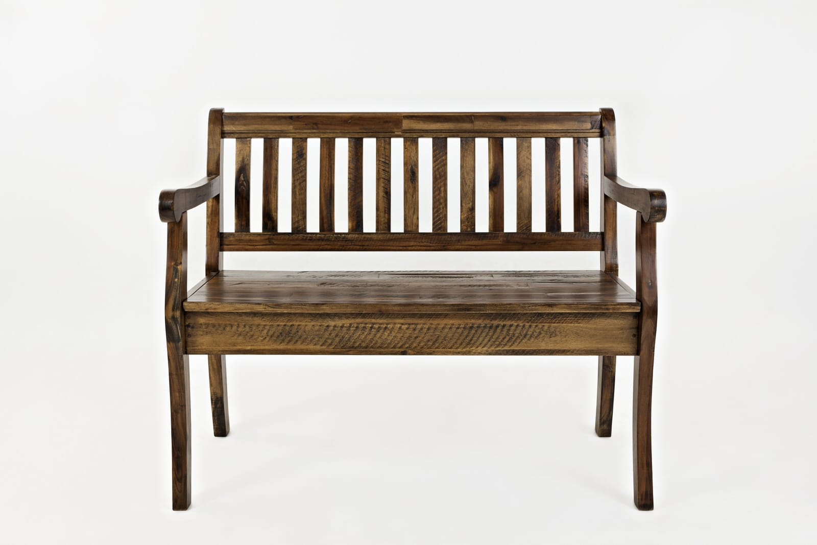 Artisans Craft Dakota Oak Storage Bench By Jofran Furniture