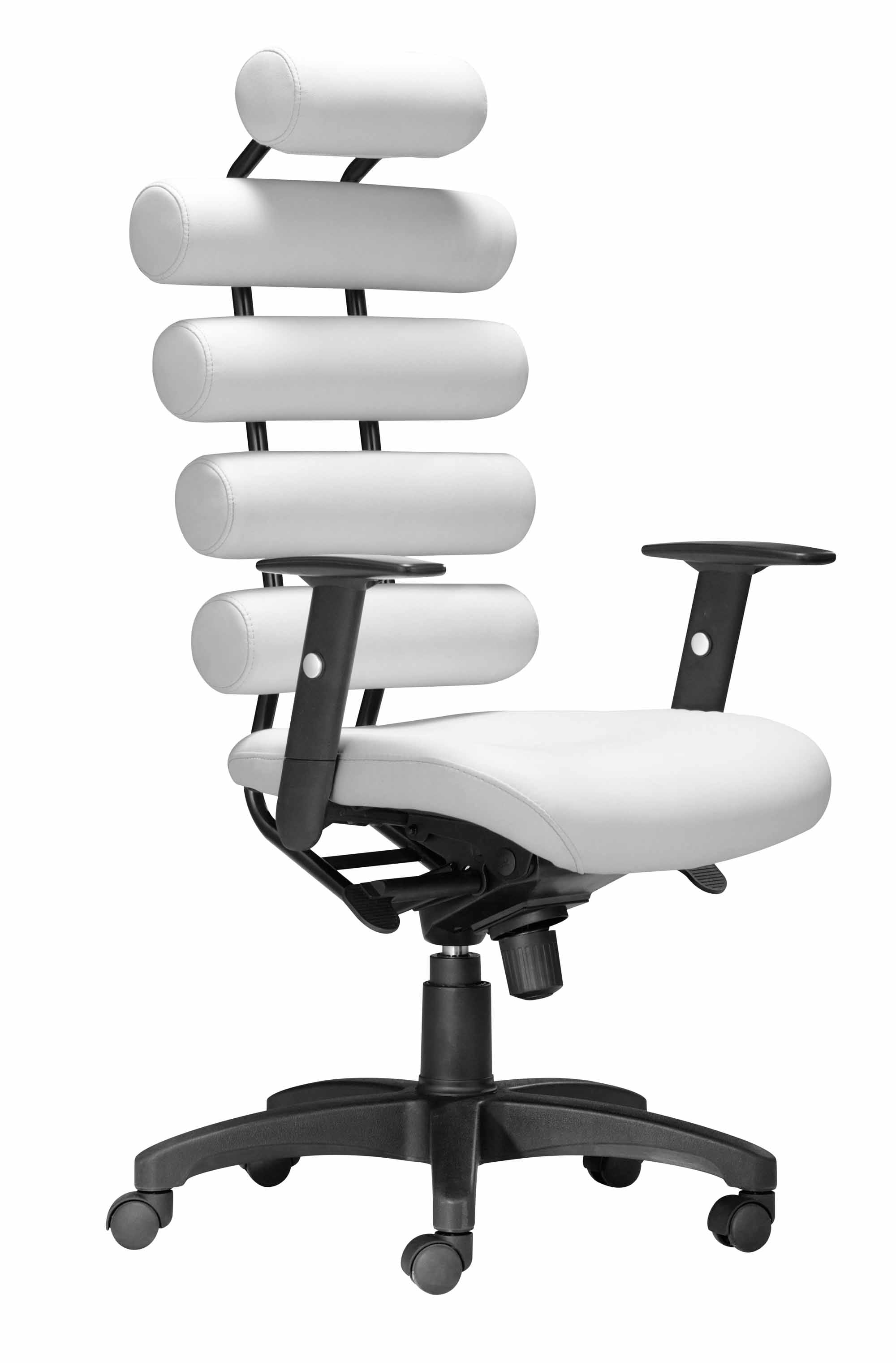 Stupendous Unico Office Chair White By Zuo Modern Caraccident5 Cool Chair Designs And Ideas Caraccident5Info