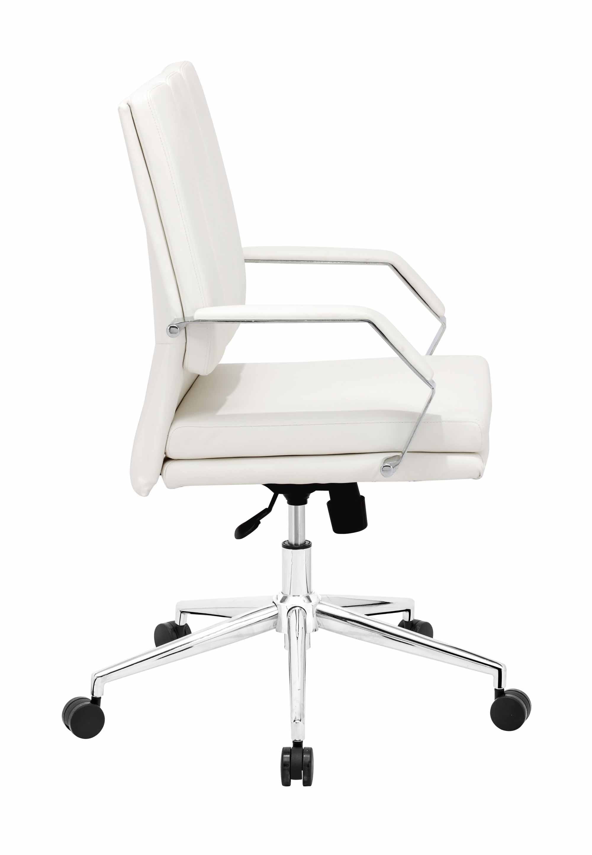 director pro office chair white by zuo modern. Black Bedroom Furniture Sets. Home Design Ideas