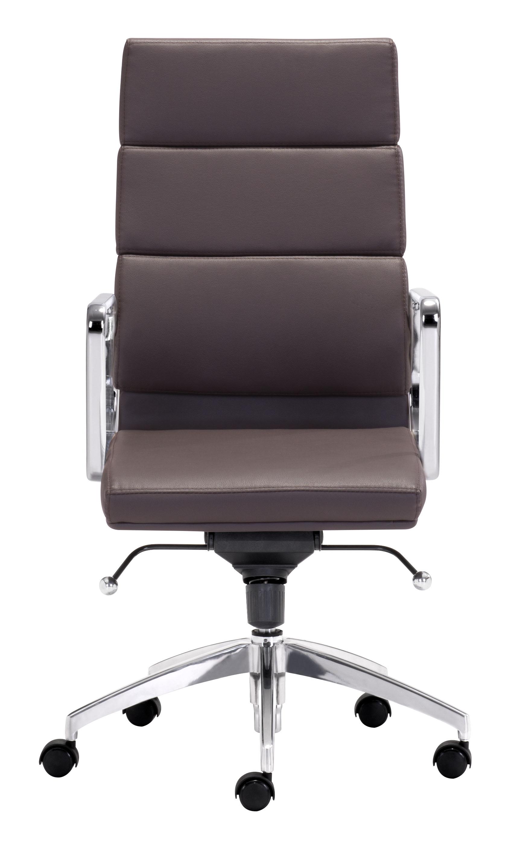engineer high back office chair espressozuo modern