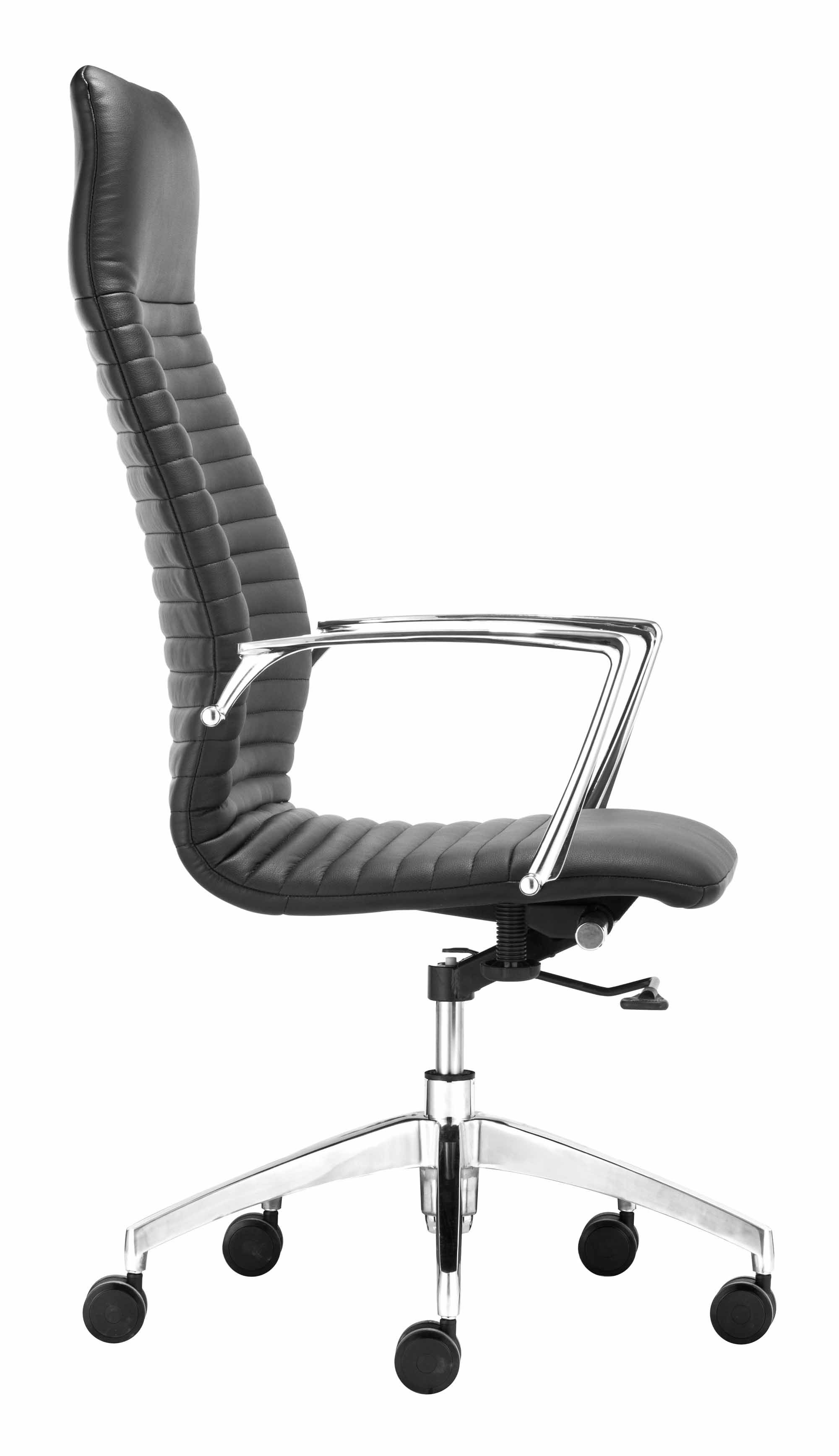 Lion High Back fice Chair Black by Zuo Modern