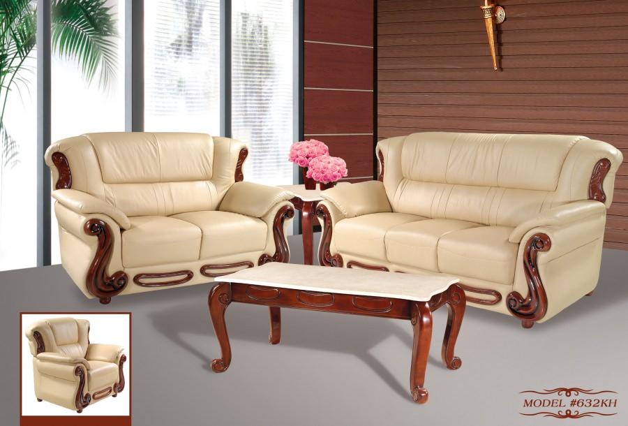 Sofa 632kh Khaki By Meridian Furniture