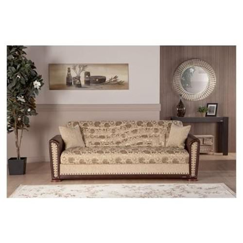 Astounding Alfa Yasemin Beige Convertible Sofa Bed By Sunset Unemploymentrelief Wooden Chair Designs For Living Room Unemploymentrelieforg
