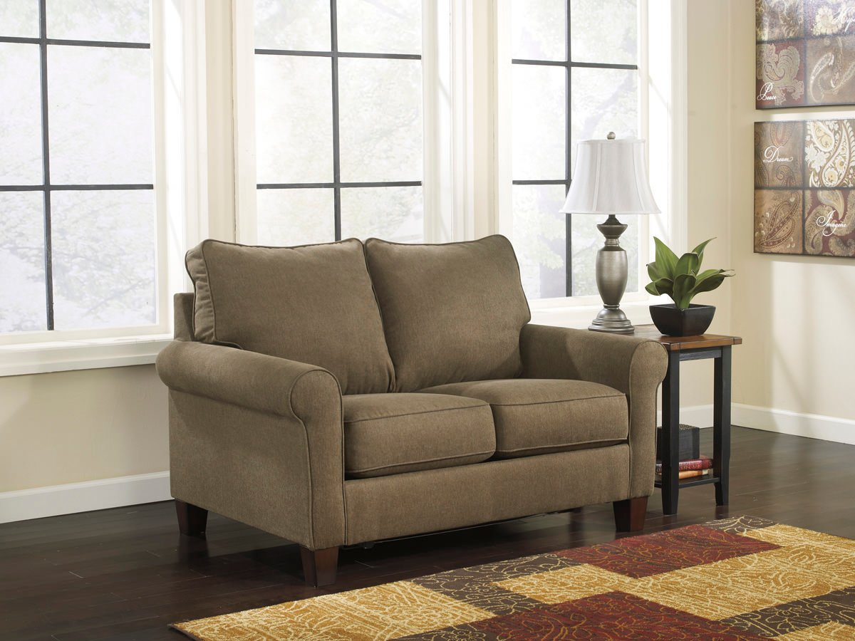 Zeth basil full sofa sleeper signature design by ashley for Ashley sleeper sofa