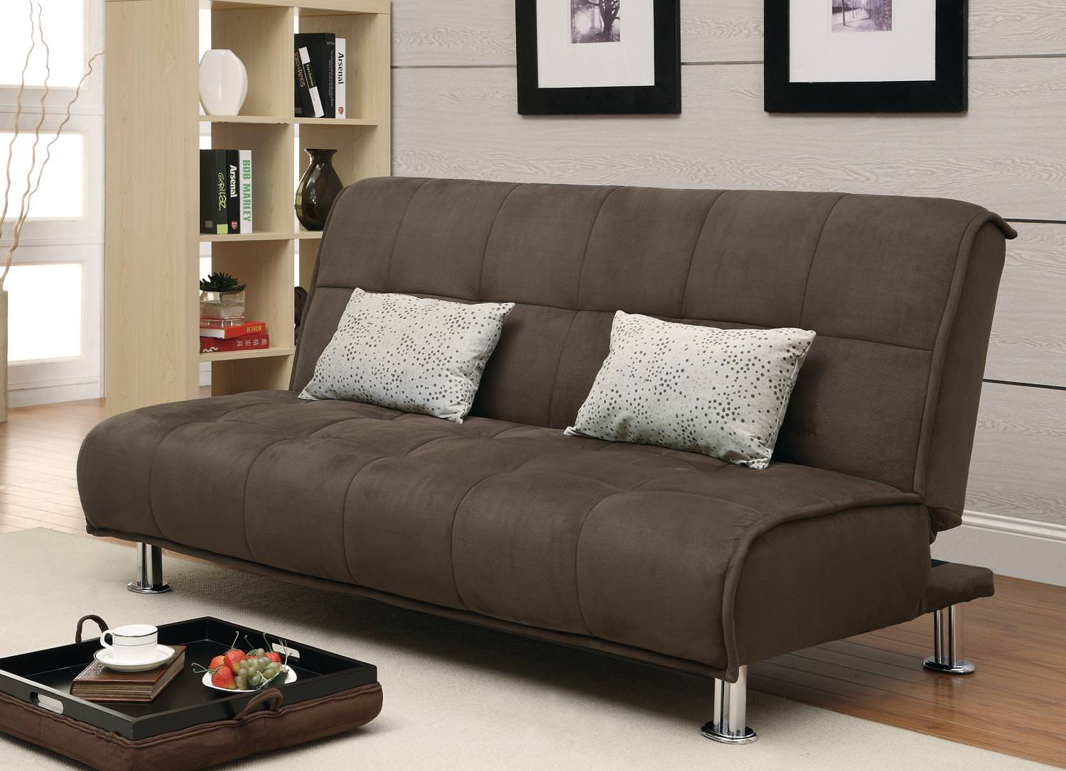 300276 Sofa Bed Brown By Coaster