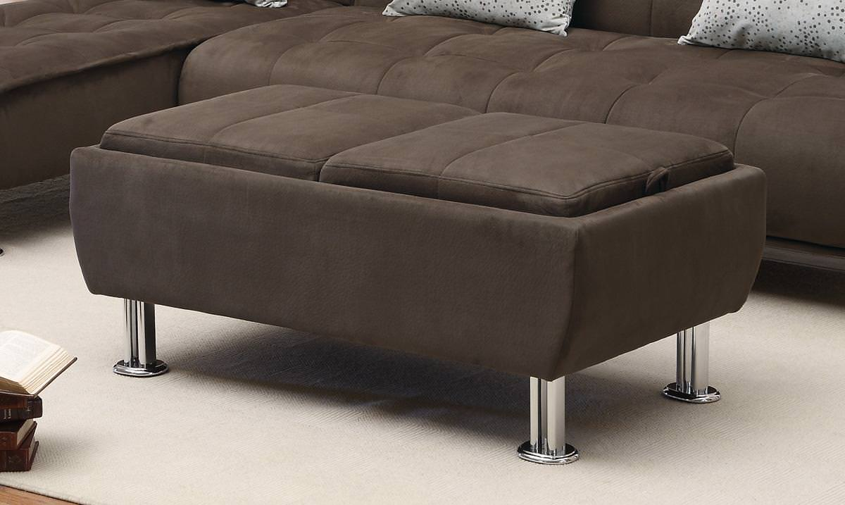 Fantastic 300278 Storage Ottoman Brown By Coaster Ibusinesslaw Wood Chair Design Ideas Ibusinesslaworg