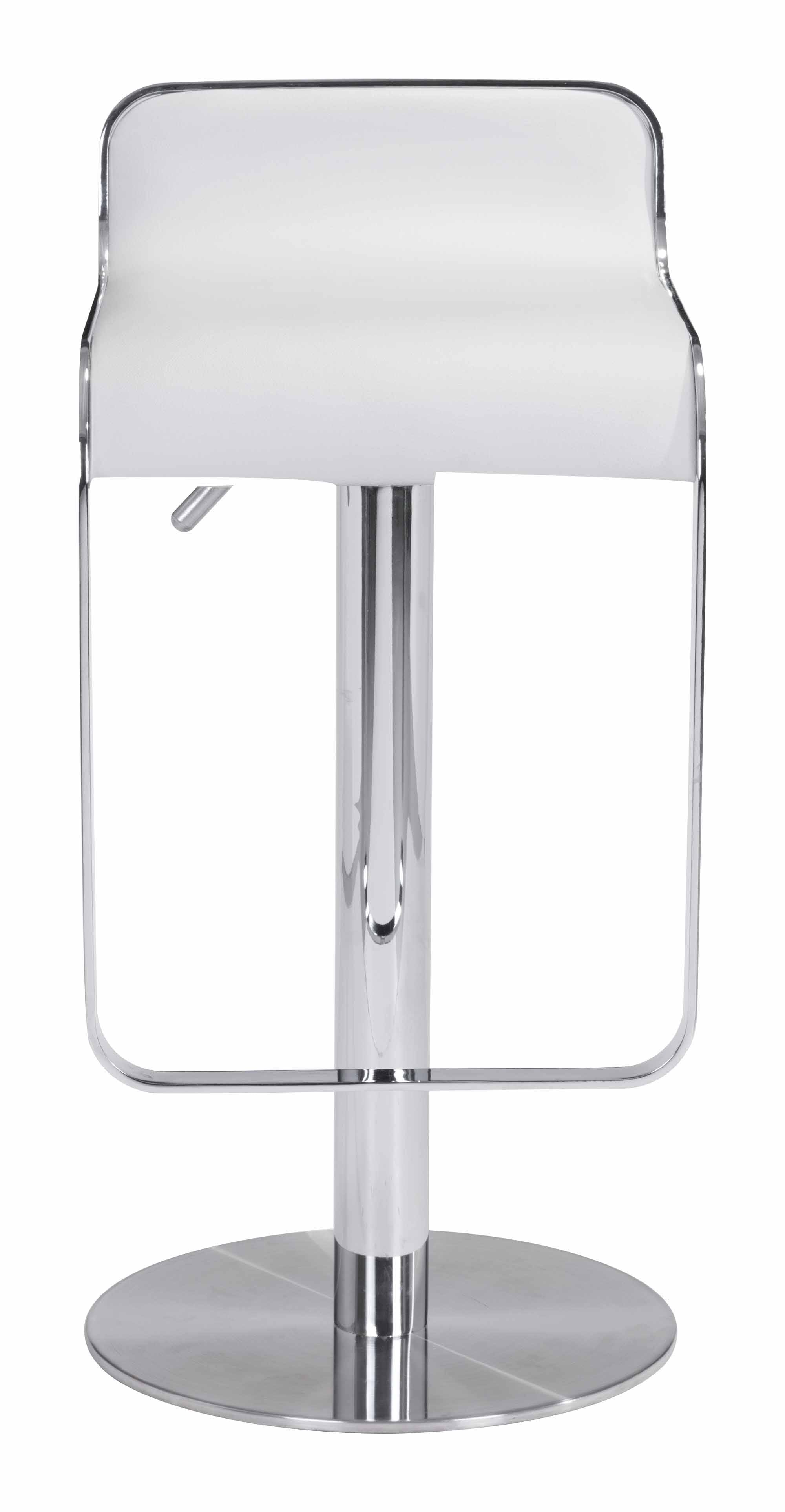 Equino Stool White By Zuo Modern