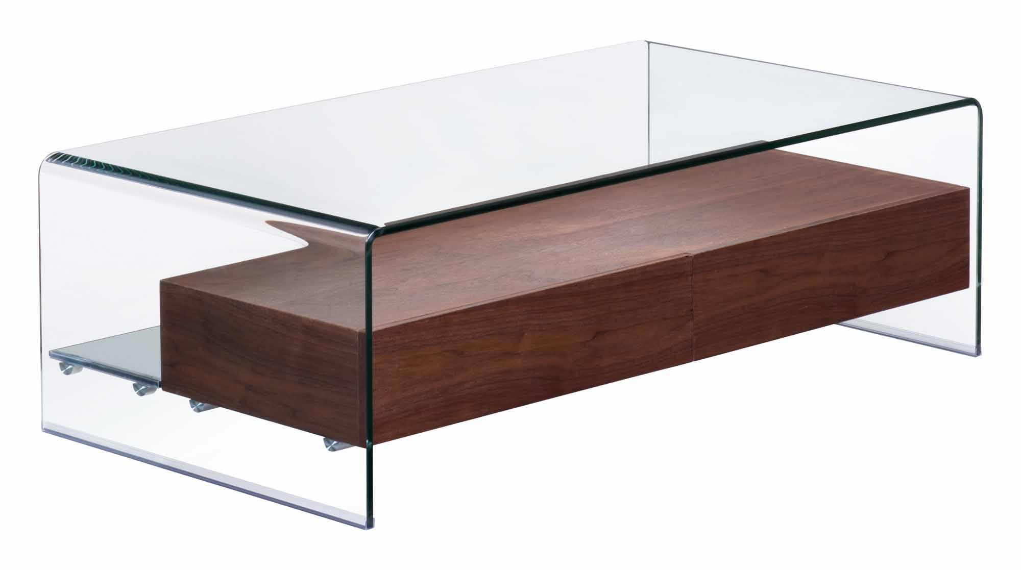 Zuo Modern Coffee Table Shaman Coffee Table Walnut By Zuo Modern