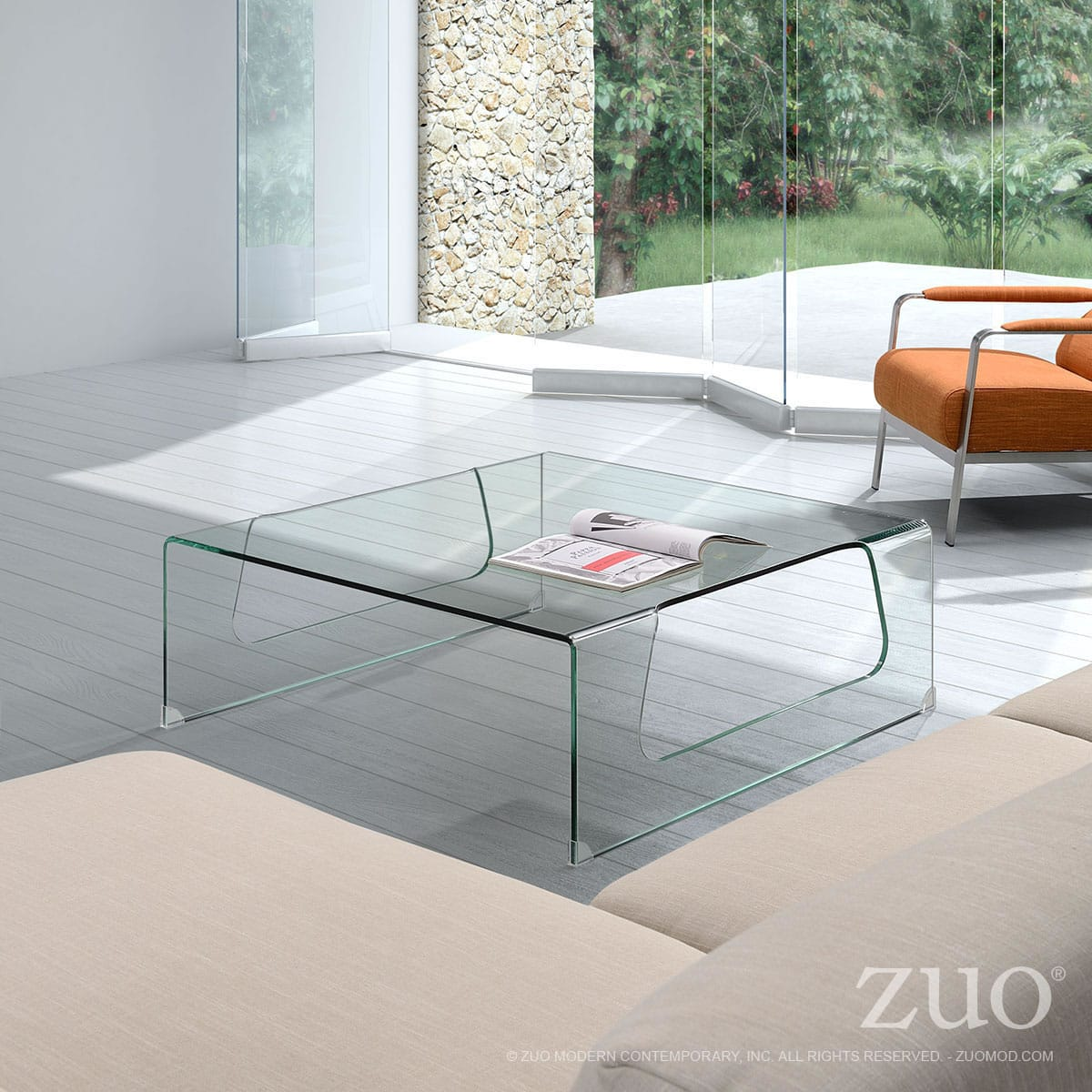 Campaign Coffee Table By Zuo Modern