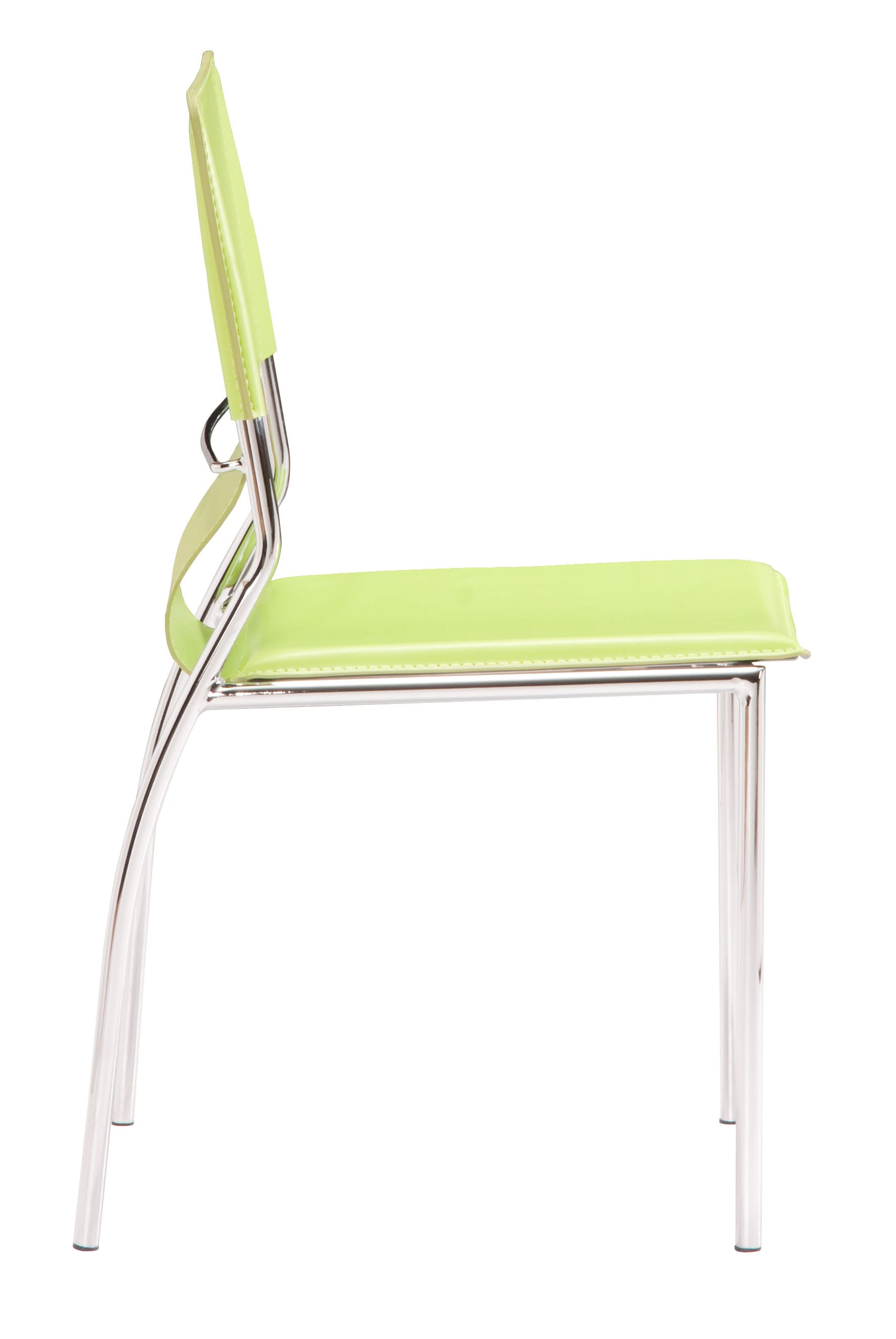 Trafico Dining Chair Green Set of 4 by Zuo Modern : 404134 2 from futonland.com size 1776 x 2652 jpeg 218kB