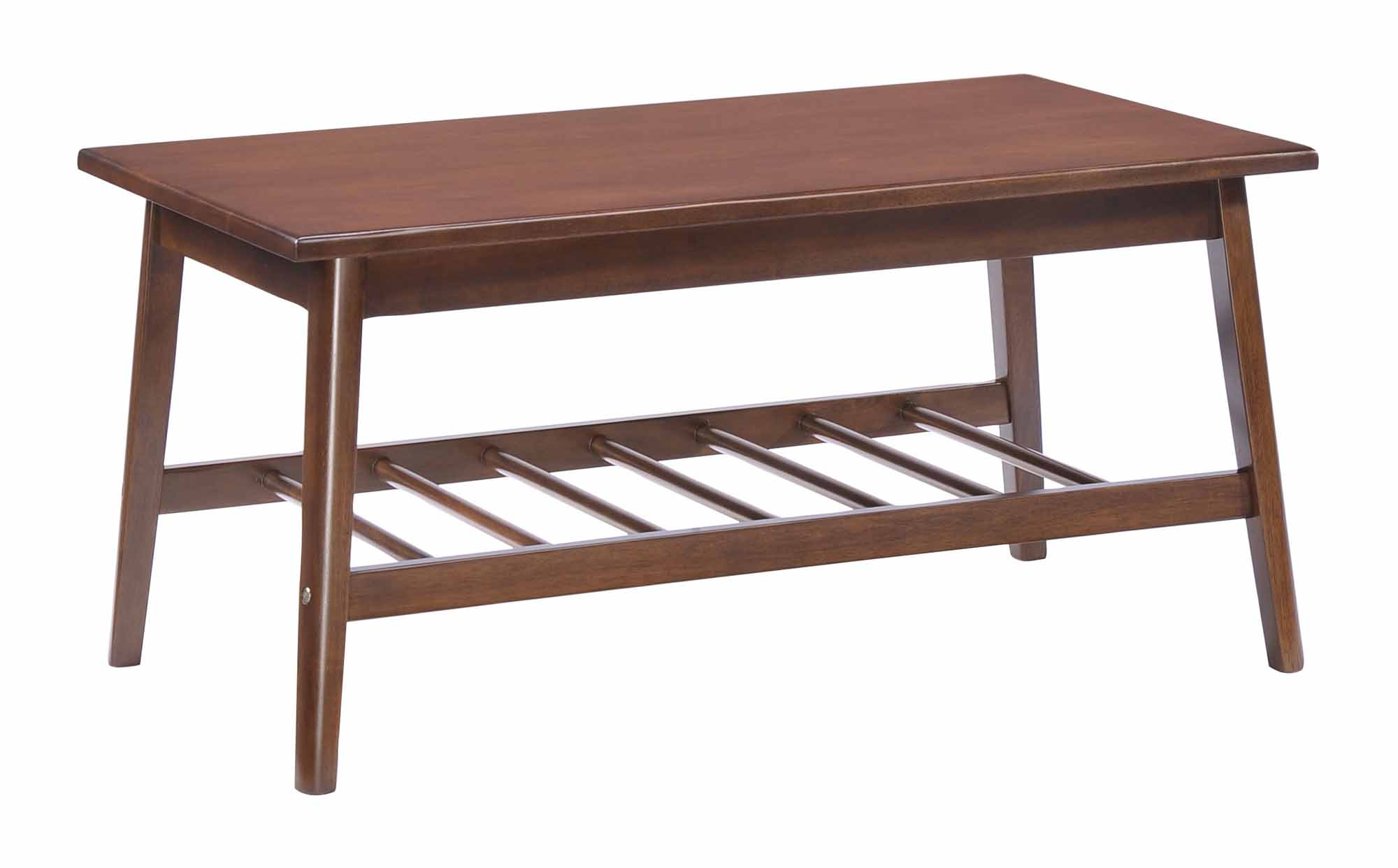 Aventura coffee table walnut by zuo modern for Zuo coffee tables