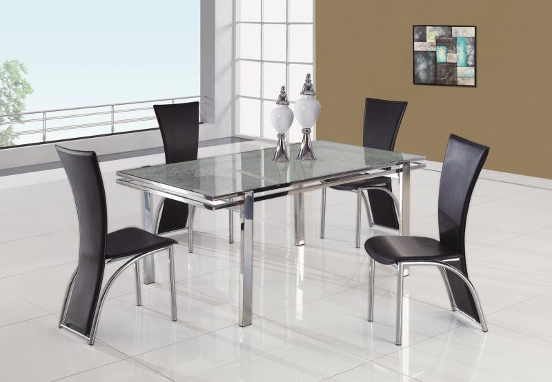 dining table 434dt by global furniture. Black Bedroom Furniture Sets. Home Design Ideas