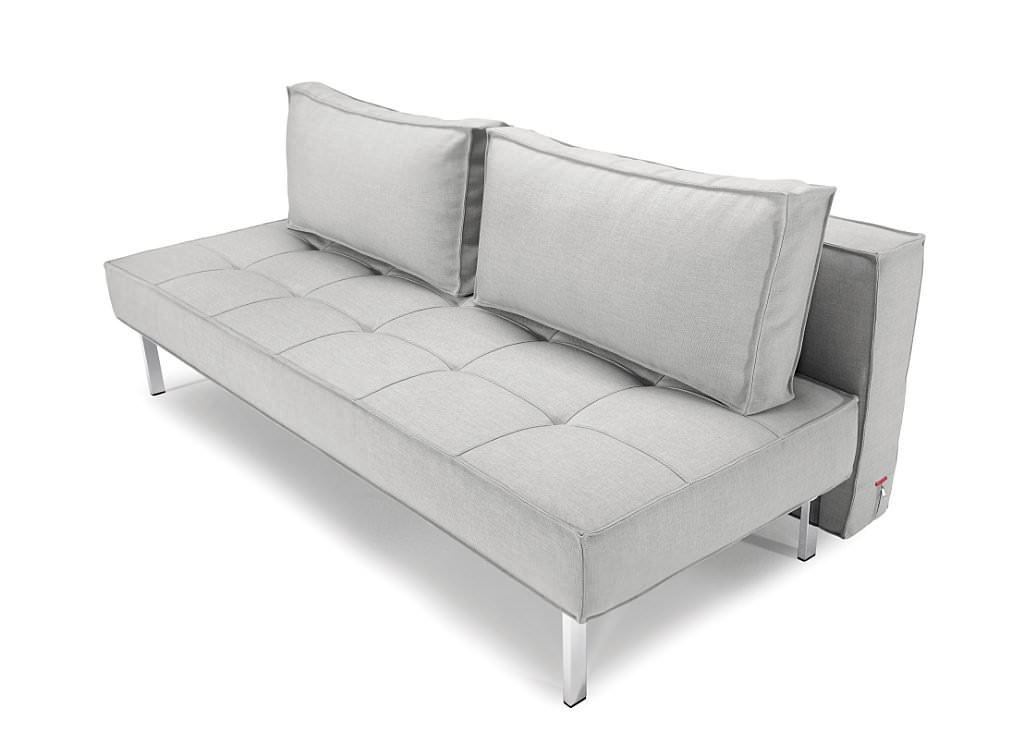 Sly Deluxe Sofa Bed Light Grey Basic By