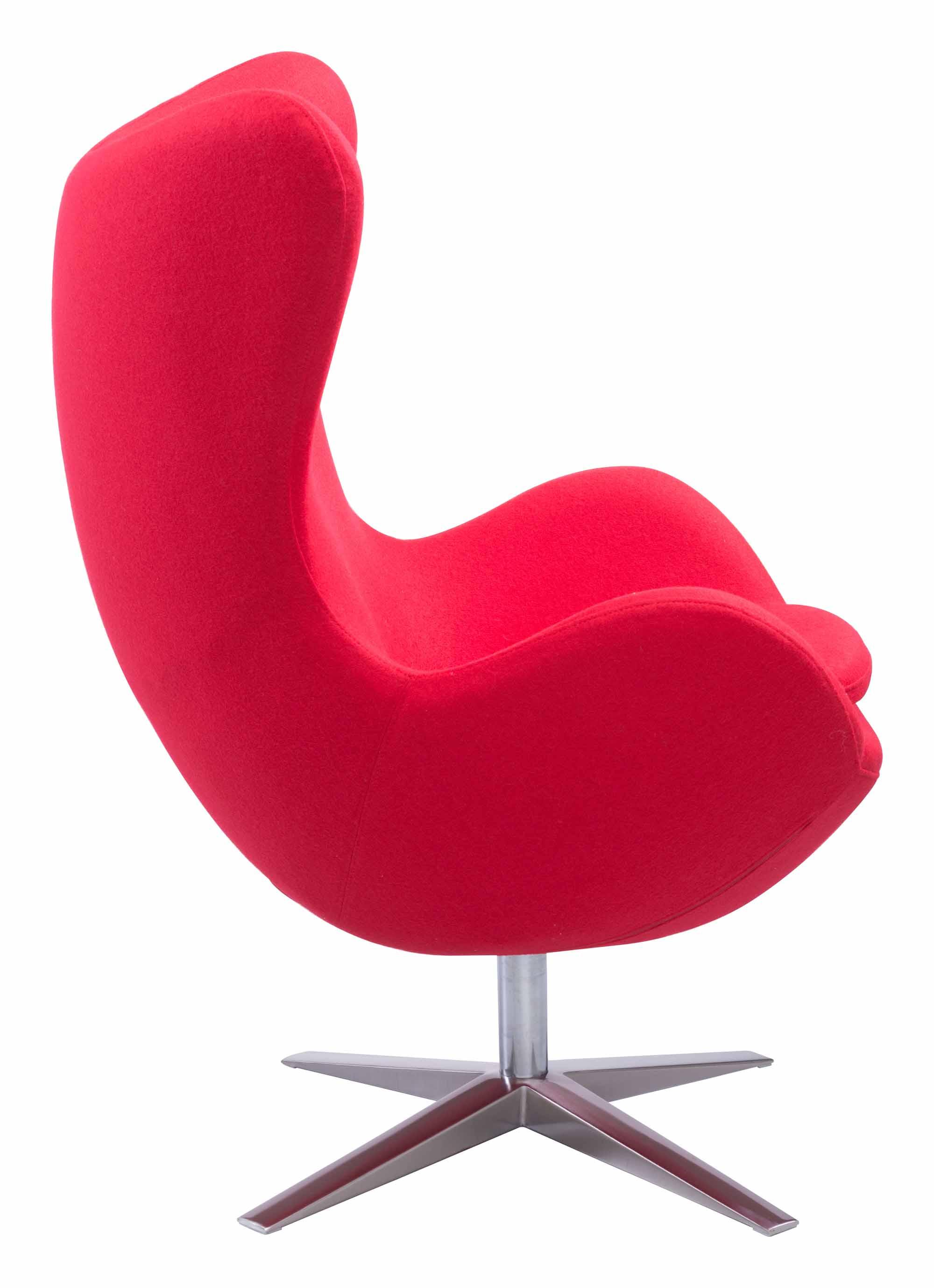 Awe Inspiring Skien Arm Chair Red By Zuo Modern Theyellowbook Wood Chair Design Ideas Theyellowbookinfo