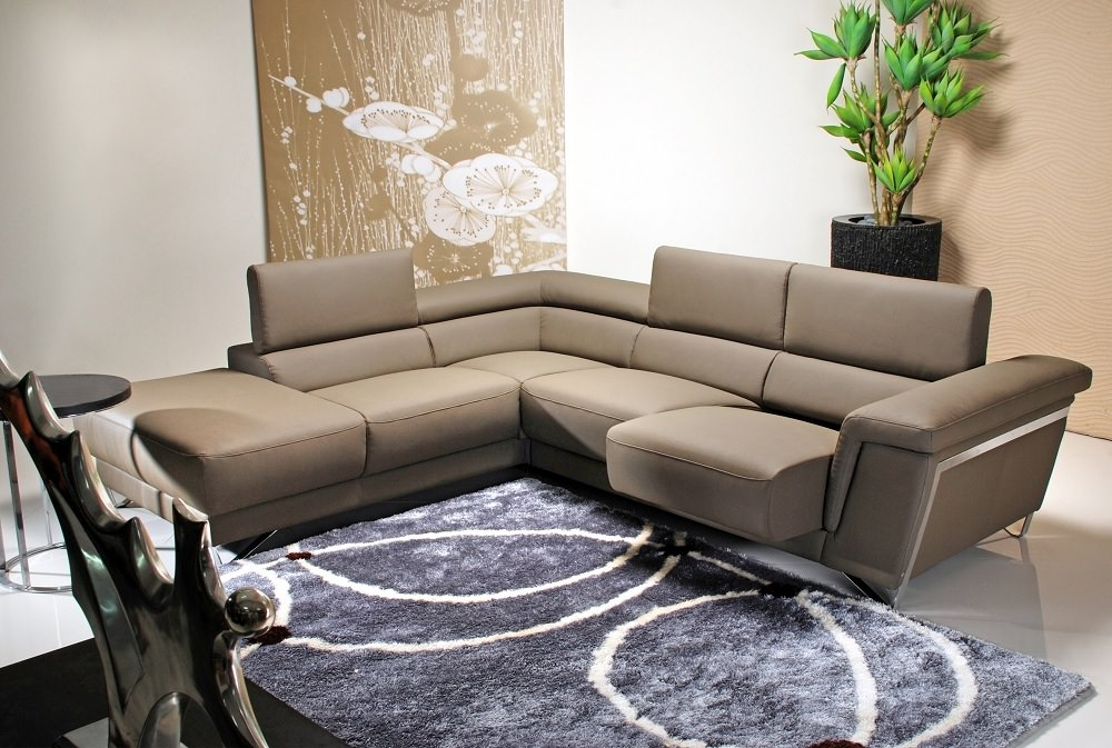 5069 premium italian leather sectional olive by j m furniture