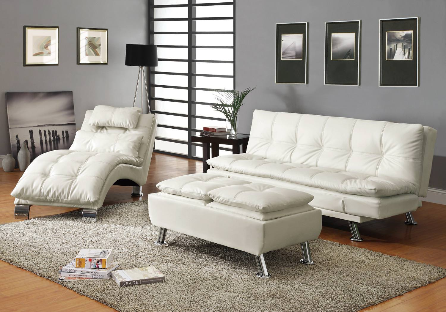 : coaster chaise lounge - Sectionals, Sofas & Couches