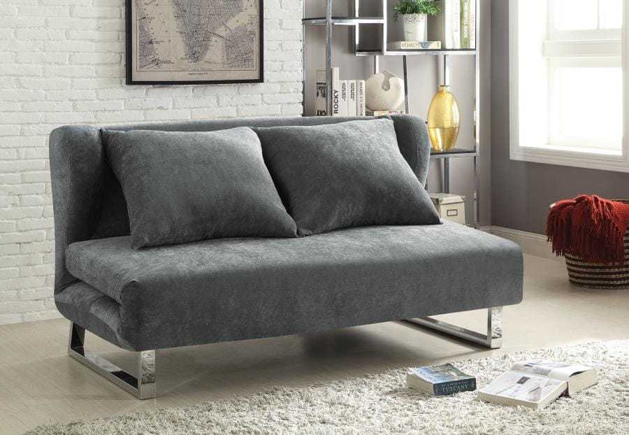 551074 Transitional Velvet Sofa Bed by Coaster