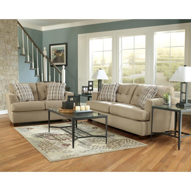 Ashley Furniture Outlet Dallas Tx: Khaki Sofa Signature Design By Ashley Furniture