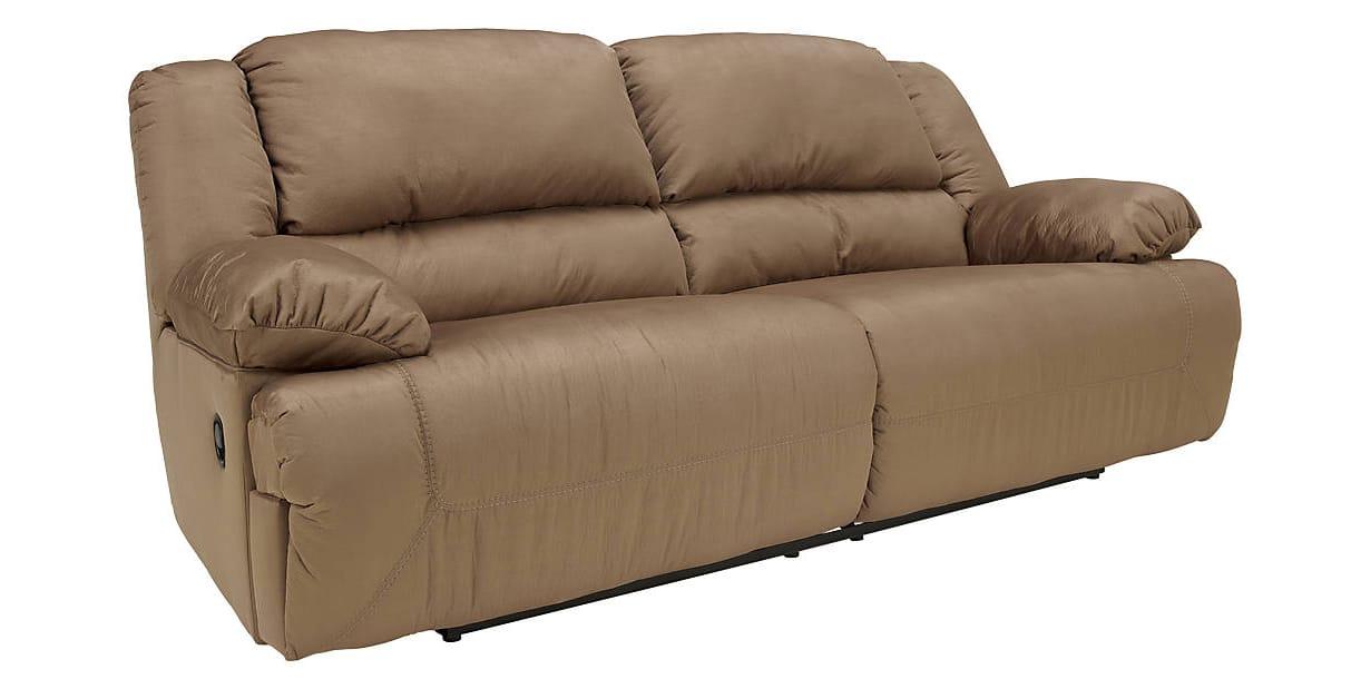 Hogan Brown 2 Seat Reclining Sofa by Ashley Furniture