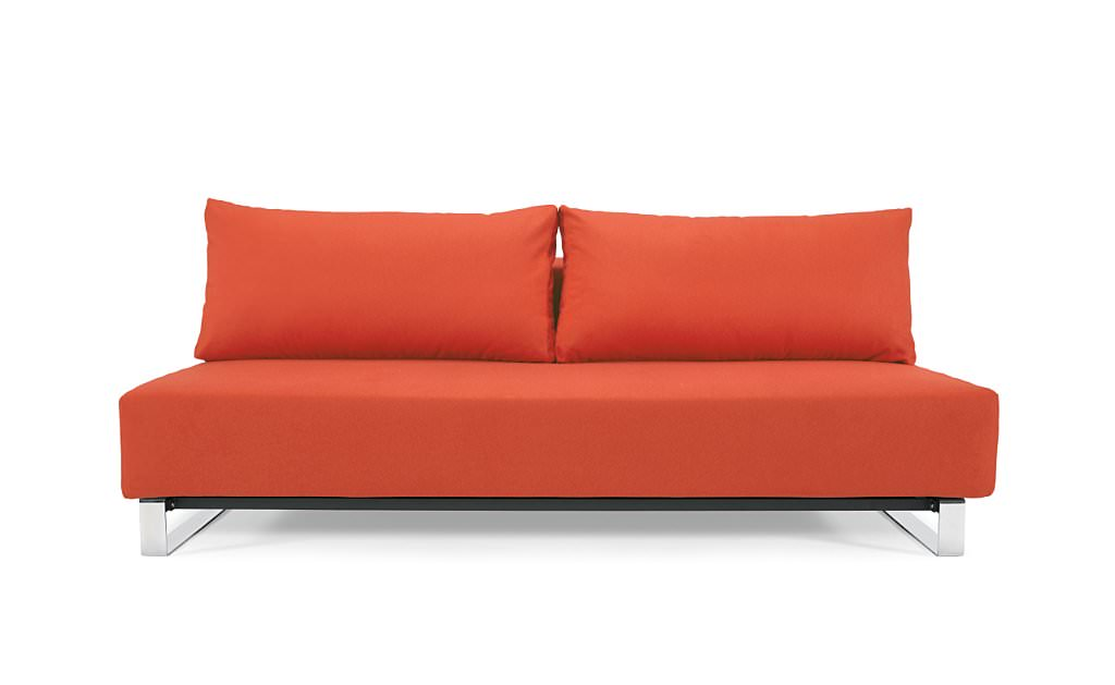 Reloader Sleek Excess Sofa Bed Red Ifelt by Innovation