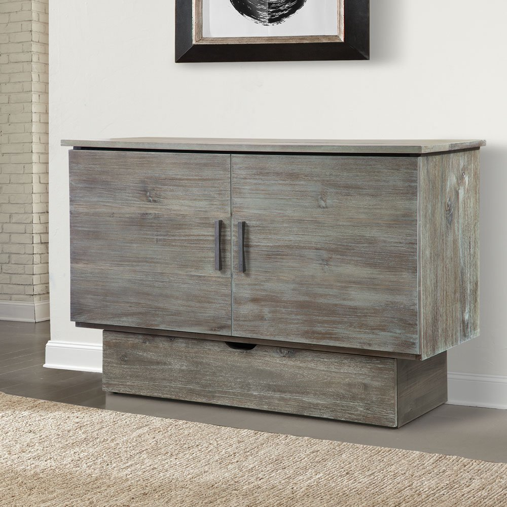 Studio Queen Murphy Cabinet Bed Ash By Arason Furniture