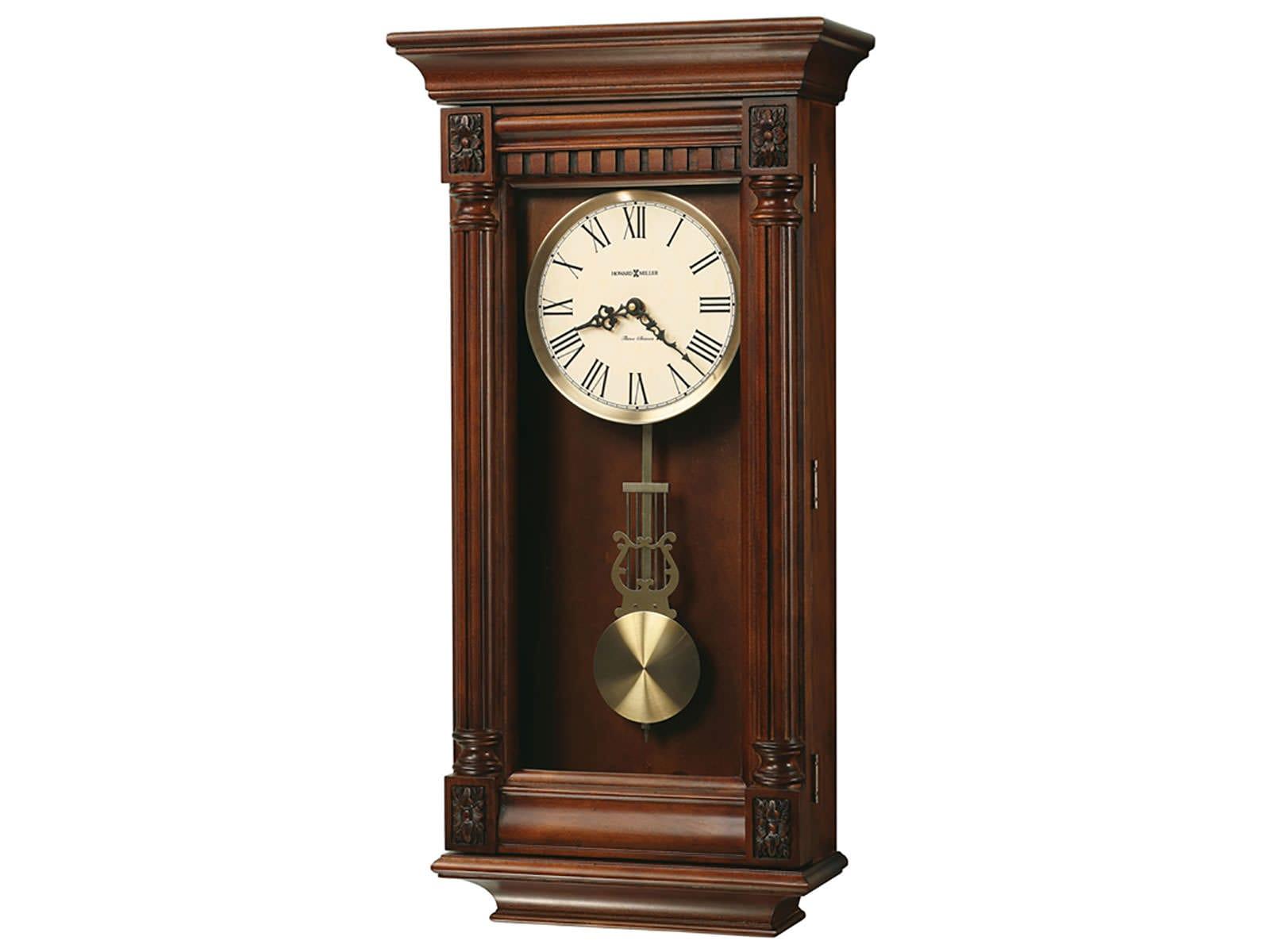 625 474 lewisburg wall clock by howard miller