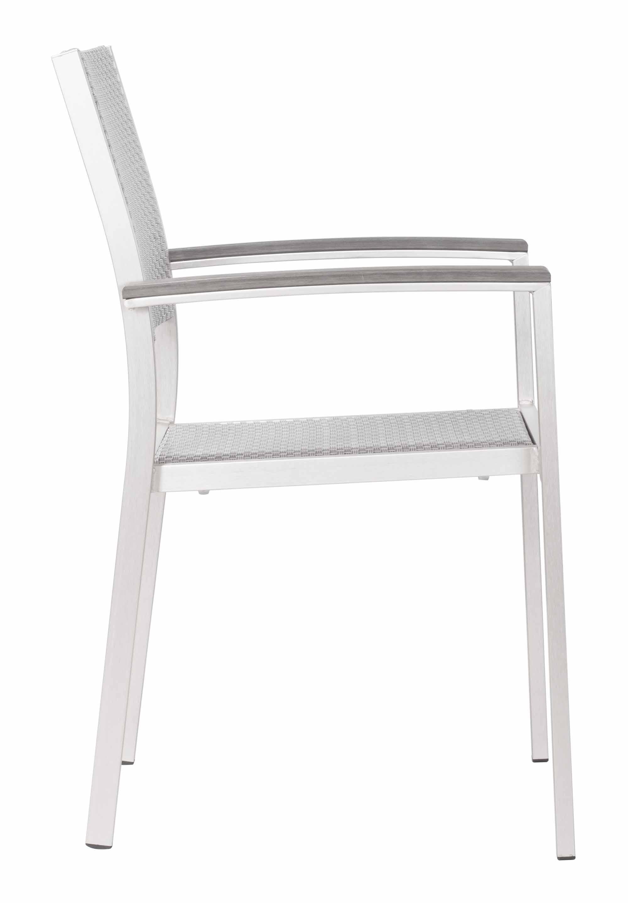 Metropolitan Arm Chair Set of 2 by Zuo Modern