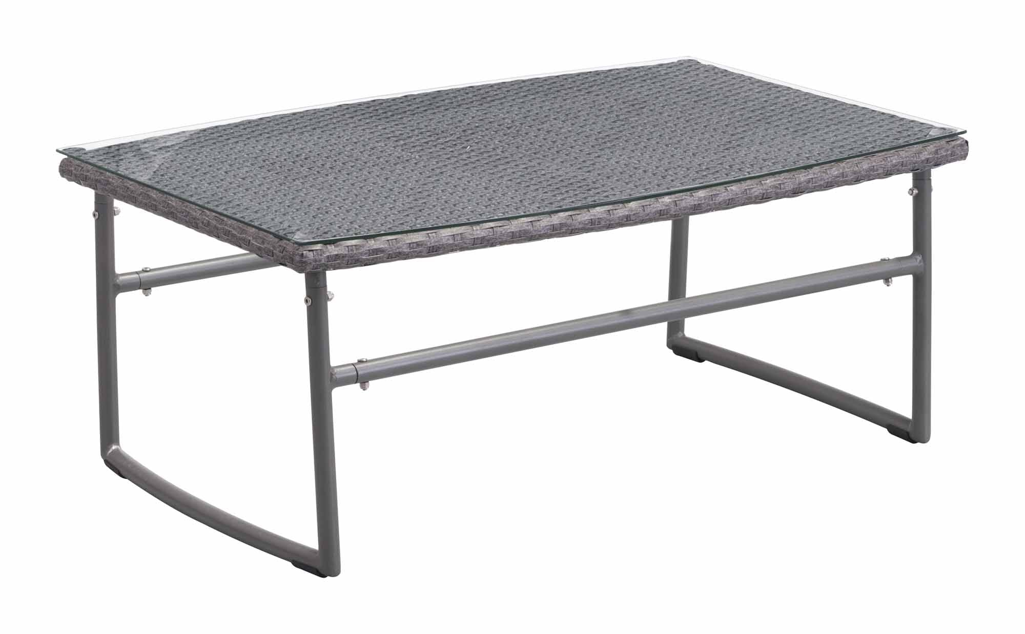 Ingonish Beach Coffee Table Gray By Zuo Modern