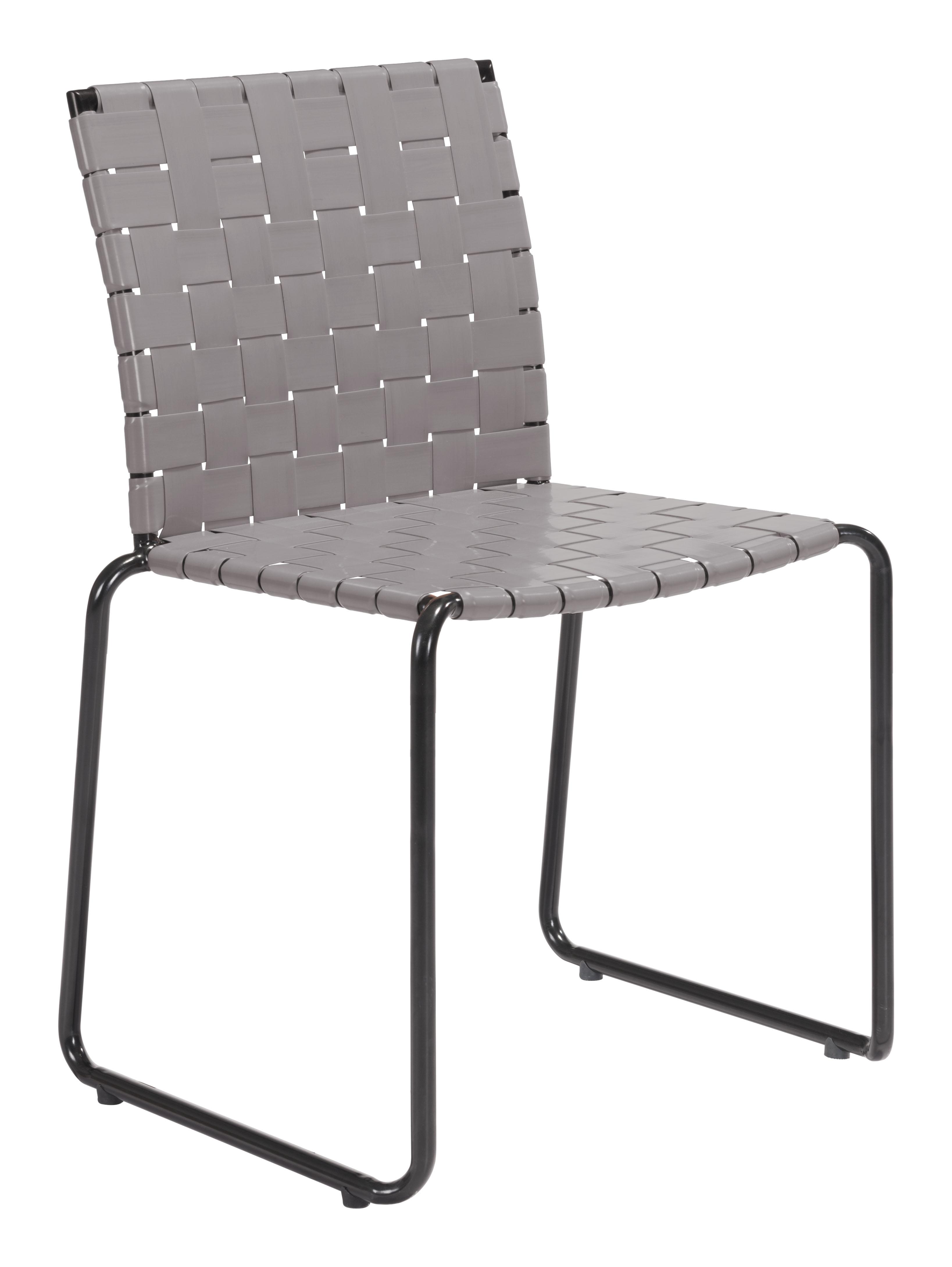 Fabulous Beckett Dining Chair Light Gray Set Of 4 By Zuo Modern Theyellowbook Wood Chair Design Ideas Theyellowbookinfo