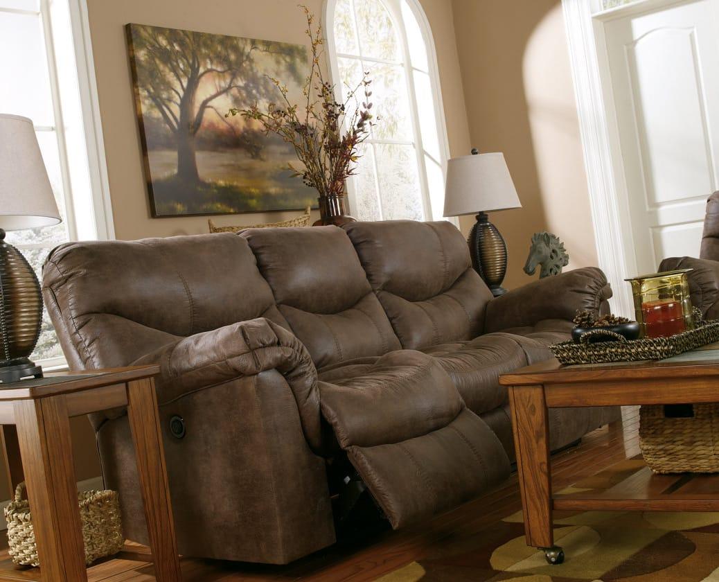 Fantastic Alzena Gunsmoke Reclining Sofa By Ashley Furniture Machost Co Dining Chair Design Ideas Machostcouk