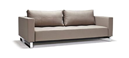 Cassius Deluxe Excess Sofa Bed Queen Size Classic Gray by Innovation
