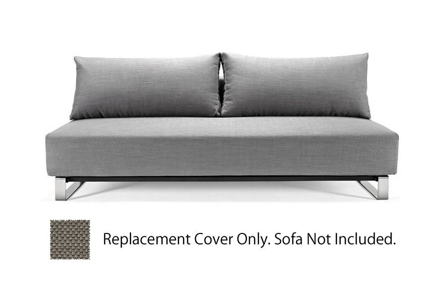 Reloader detachable cover heavy natch grey by innovation for Innovation sofa cover
