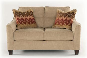 Swell Lucinda Quartz Loveseat Signature Design By Ashley Furniture Lamtechconsult Wood Chair Design Ideas Lamtechconsultcom