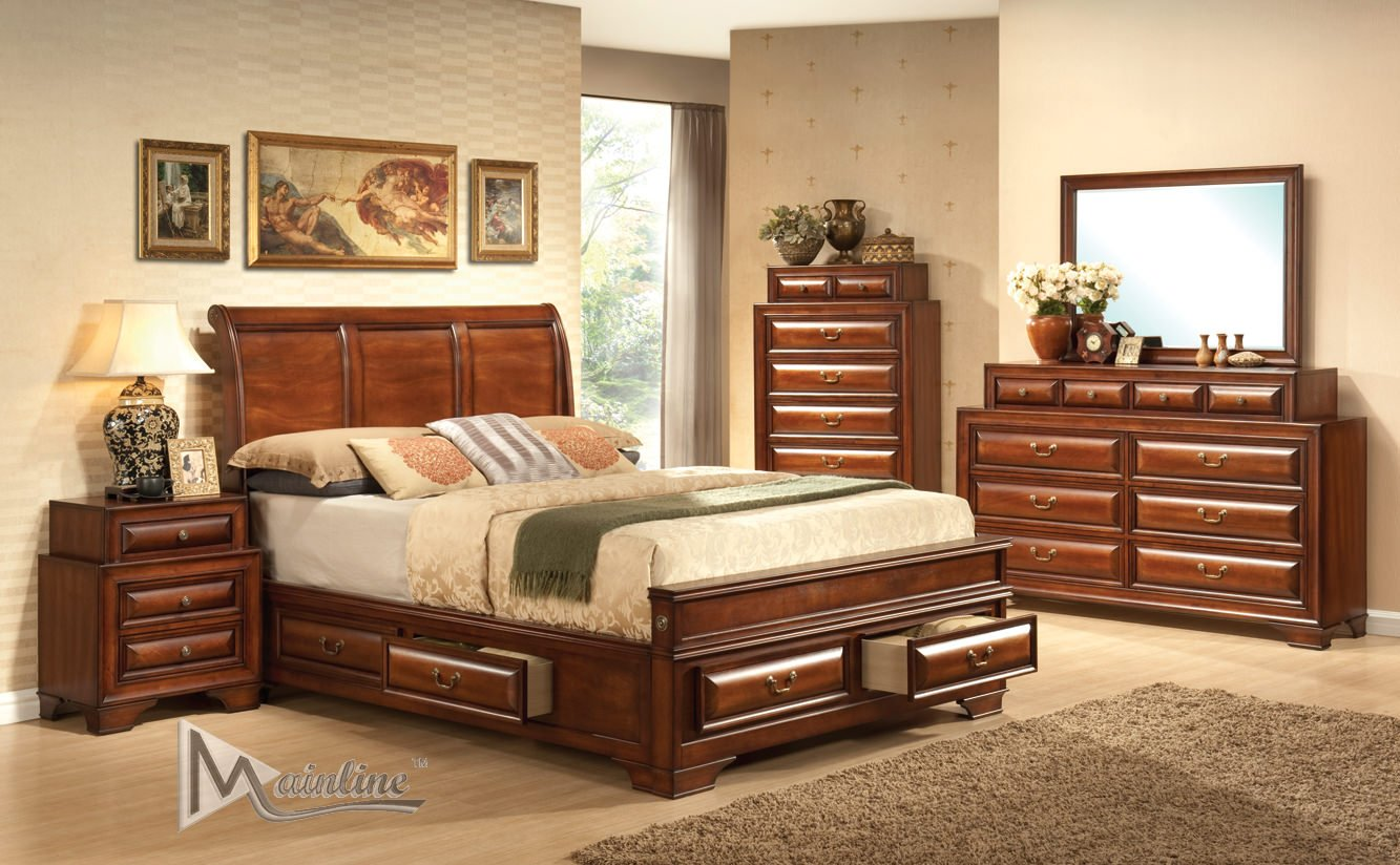 Baron Bedroom Set By Mainline Furniture Id 14213