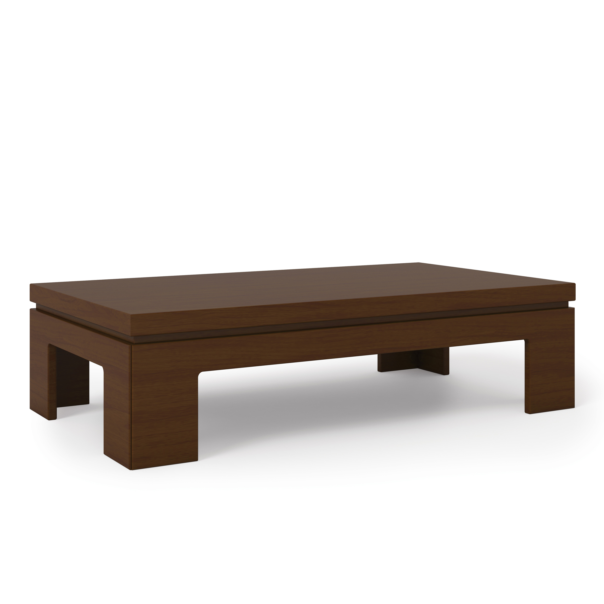 Bridge 2 0 nut brown modern accent side coffee table by manhattan comfort Side and coffee tables