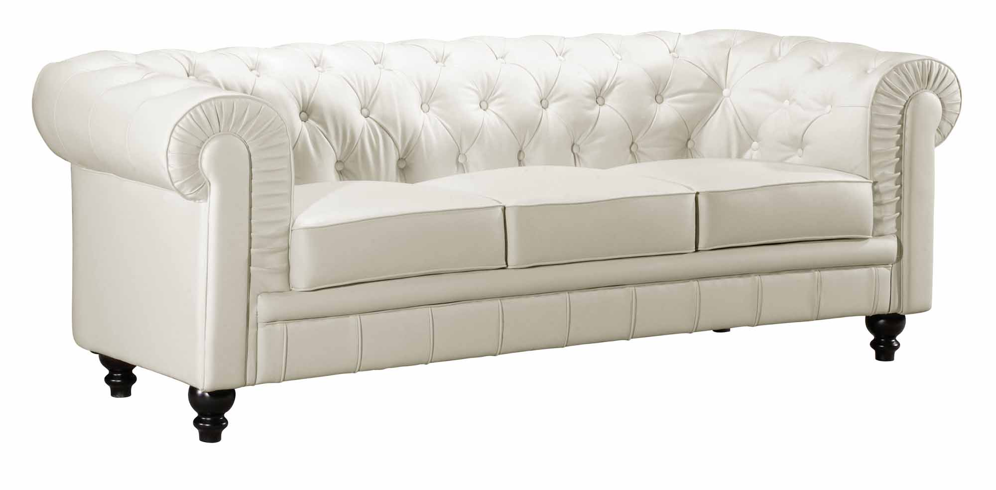 Aristocrat Sofa White by Zuo Modern