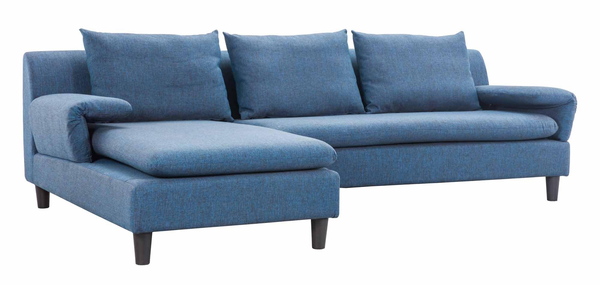 Axiom sofa cowboy blue by zuo modern